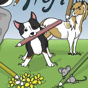 Hófí litabók / Hófí coloring book